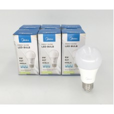 9W LED 球膽 (暖黃光) 6盒