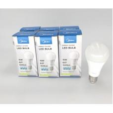 15W LED 球膽 (冷日光) 6盒